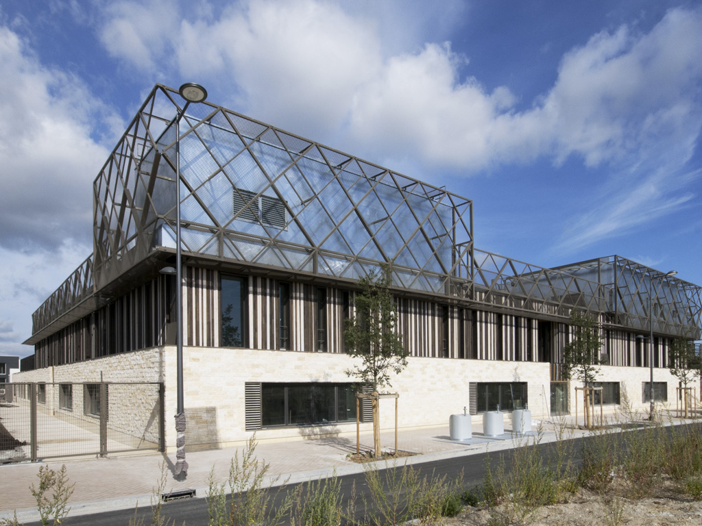Centre scolaire GINKO BORDEAUX ©JP BOISSEAU